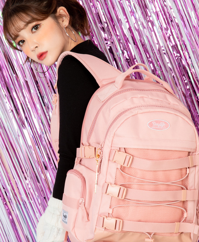 DAYLIFE SIGNAL BACKPACK(PINK)