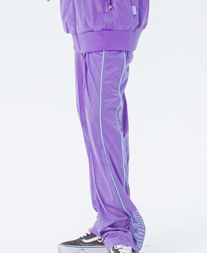 [20FW NEW]DAYLIFE LOGO TRACK PANTS (PURPLE)