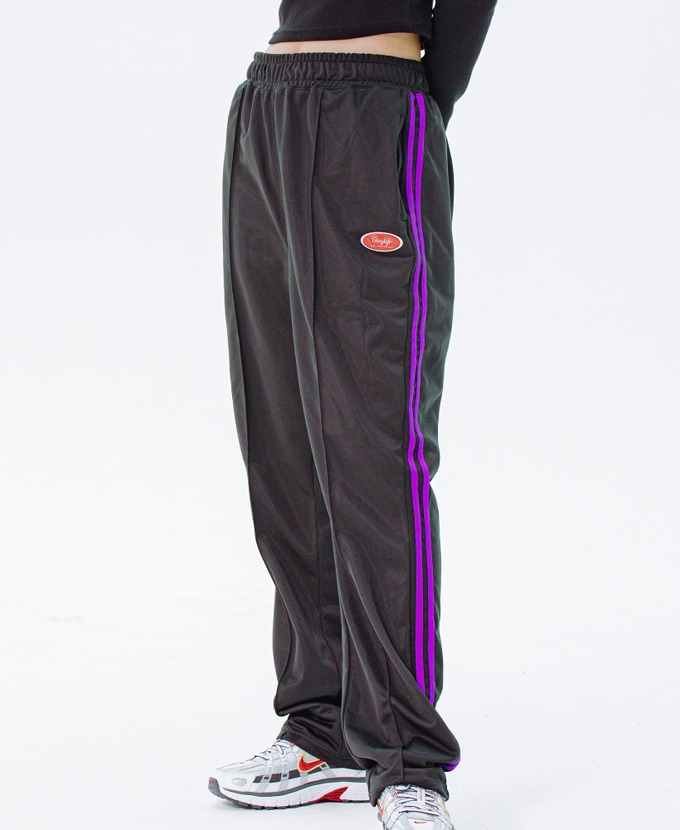 [20FW NEW]DAYLIFE LINE TRACK PANTS (BLACK)