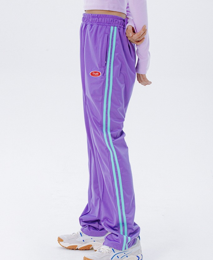 [20FW NEW]DAYLIFE LINE TRACK PANTS (PURPLE)