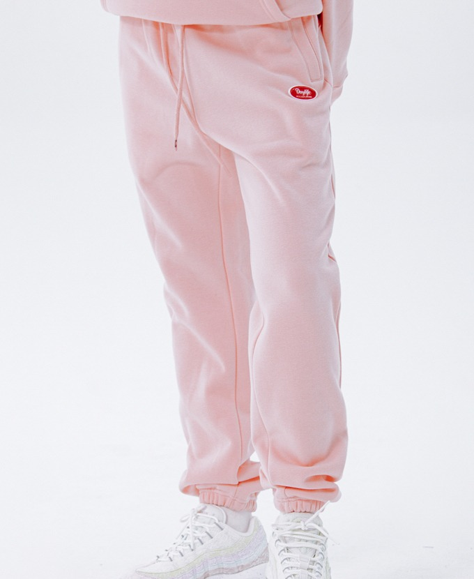 DAYLIFE LOGO SWEAT PANTS (PINK)