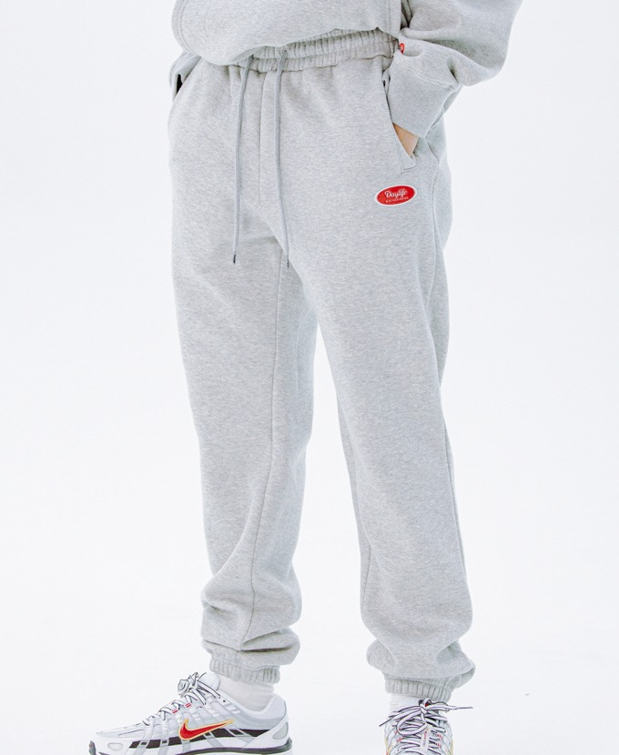 DAYLIFE LOGO SWEAT PANTS (GRAY)