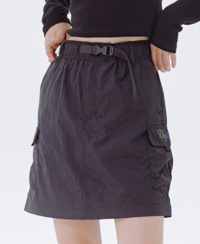 DAYLIFE REFLECTIVE BELT SKIRT (BLACK)
